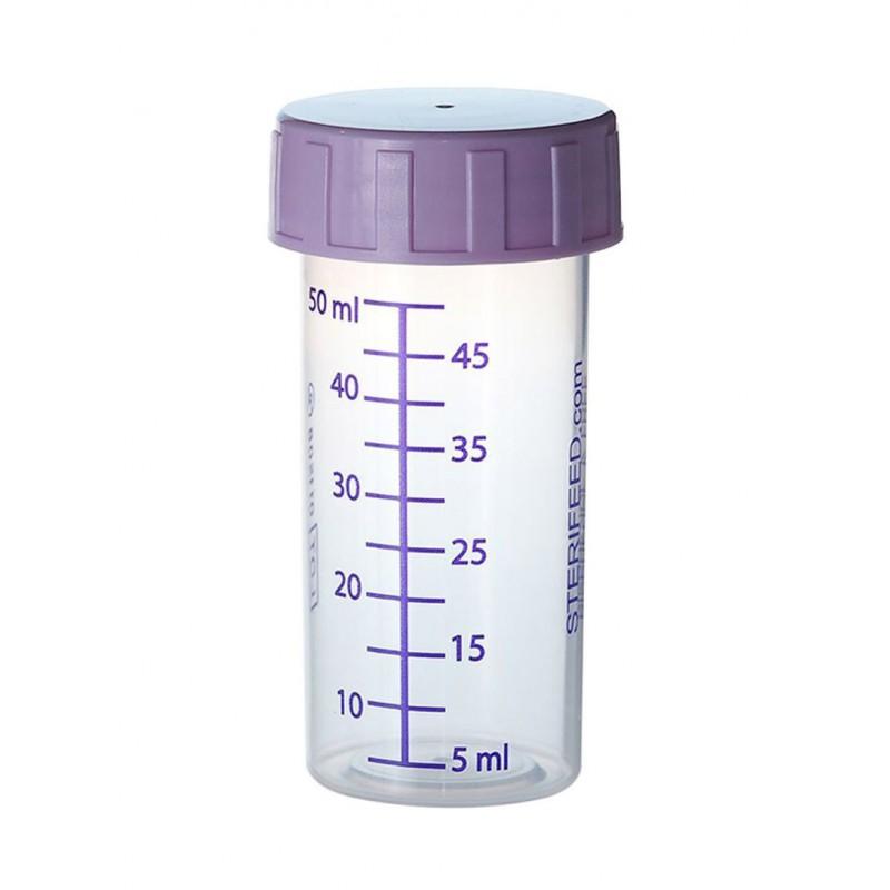 Butelka sterylna do karmienia i przechowywania pokarmu 50ml- 1szt.