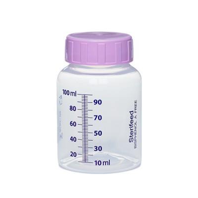 Butelka jednorazowego użytku do karmienia i przechowywania pokarmu 100ml- 1szt.
