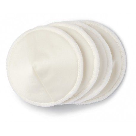 Wielorazowe wkładki laktacyjne 8 sztuk + worek AMEDA