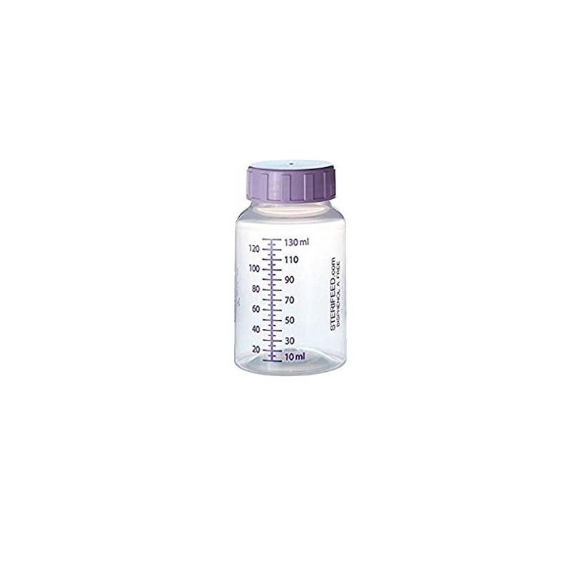 Butelka jednorazowego użytku do karmienia i przechowywania pokarmu 130ml- 1szt.