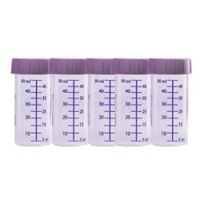 ZESTAW -5szt. Butelka do karmienia i przechowywania pokarmu jednorazowego użytku 50ml