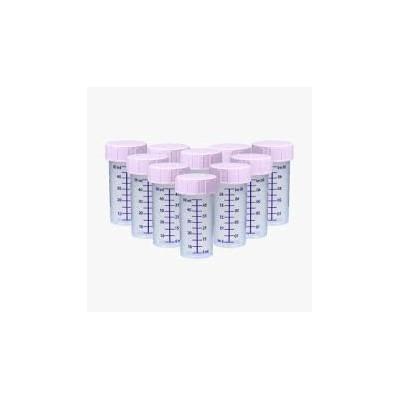 ZESTAW- 10szt. Butelka jednorazowego użytku do karmienia i przechowywania pokarmu 50ml