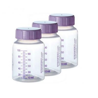 ZESTAW- 3szt. Butelka jednorazowego użytku do karmienia i przechowywania pokarmu 100ml