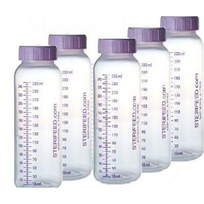 ZESTAW- 10szt. Butelka jednorazowego użytku do karmienia i przechowywania pokarmu 250ml