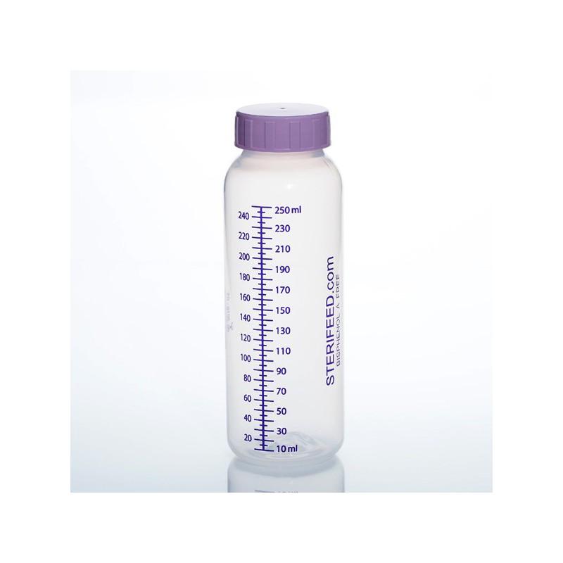 Butelka jednorazowego użytku do karmienia i przechowywania pokarmu 250ml- 1szt.